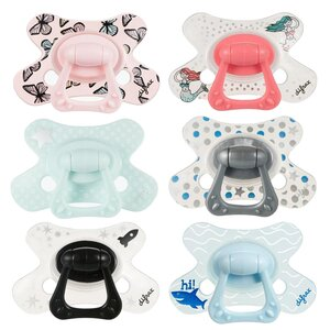 Difrax combi soother with ring 6+ months  - Bibs